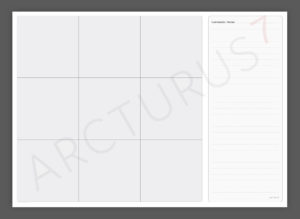 3 x 3 Matrix – Professional Quality Wallchart