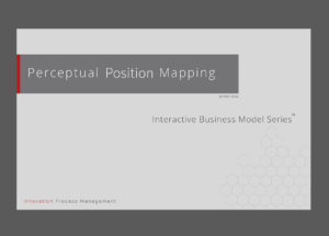 Perceptual Position Mapping – Benchmarking