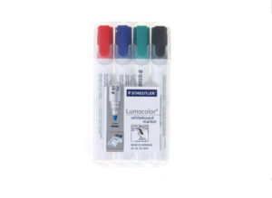 Staedtler Lumocolor (Whiteboard) Marker Pens 2mm Bullet Tip Pack of 4