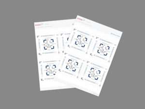 RADA(R) Self-Adhesive Stickers for Whiteboards, Flipcharts and Notebooks